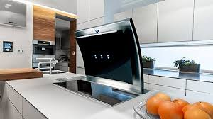 range hood with led lights luxair trif downdraft cooker hood 90cm stainless steel 980 hr with