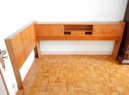 meuble lit cosy corner en ch礫ne clair r礬tro vintage ann礬es 50 60