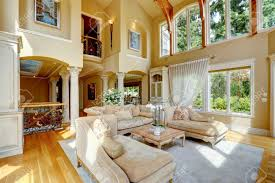 High Ceiling Living Room by Impressive High Ceiling Living Room With Antique Furniture