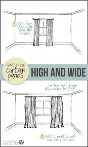 How To Hang Curtains Around Your Bed Hang Curtains On Decorated Knobs Instead Of A Curtain Rod Love