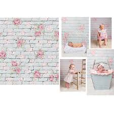 baby props 3x5ft flower studio backdrop newborn baby kid photography vinyl
