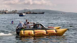 amphibious dodge truck yet another amphibious toyota pickup roadshow
