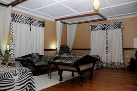 zebra bedroom living room ideas