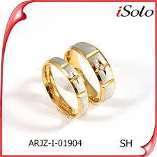 Couple Wedding Rings by Dubai Couple Wedding Rings New Design Fashion Couples Finger Ring