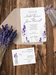 lavender wedding invitations lavender wedding invitation lavender wedding invites sle