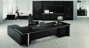 Black Office Desk Interior Office Table Home Desks Modern For Offices Interior Uk