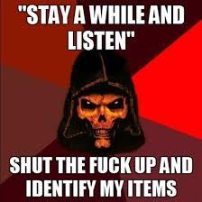 Diablo Meme - diablo 2 funny meme with deckard cain d diablo 2 funny