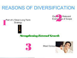 Sho Loreal loreal diversification strategic management