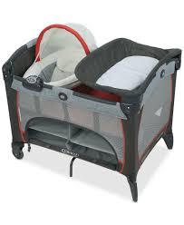 Graco Baby Crib by Graco Baby Pack U0027n Play Solar Playard With Newborn Napper Pack N