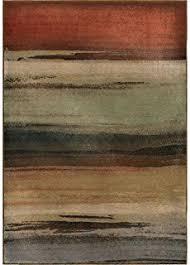 Orian Rugs Wild Weave Amazon Com Orian Rugs Plush Stripes Dusk To Dawn Multi Runner 2