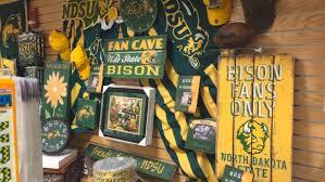 bison at home ndsu pride shines through home decor inforum