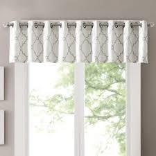 Swag Curtains With Valance Ivory U0026 Cream Valances U0026 Kitchen Curtains You U0027ll Love Wayfair
