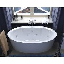 Freestanding Bath Tub 34 X 68 Oval Freestanding Bathtub