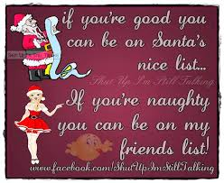 santa list quotations with pictures