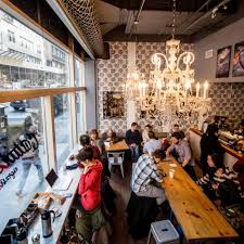 Rolf S Nyc The 10 Best Places To Drink Coffee In Nyc Coffee Shop Coffee