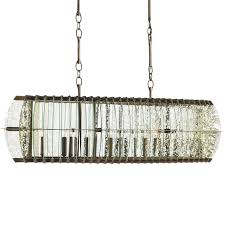 Currey And Company Lighting Rectangle Chandelier By Currey And Company 9034 Cc