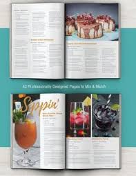 cookbook and recipe template for adobe indesign available for