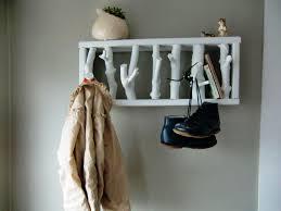 wall mounted hat and coat rack u2014 jen u0026 joes design modern wall