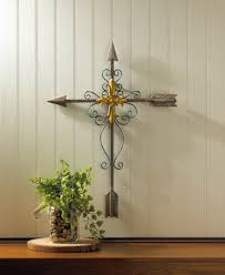 decorative crosses for wall cross wall unique large metal wall crosses for home decor ebay
