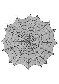 round spiderweb table topper indoor halloween decorations