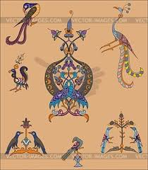 armenian ornaments vector clipart