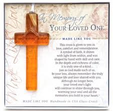 in memory of your loved one cross ornament christianbook