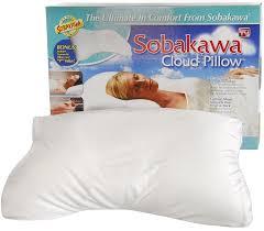 Sofa Cushion Support As Seen On Tv Amazon Com Sobakawa Cloud Pillow 12 6