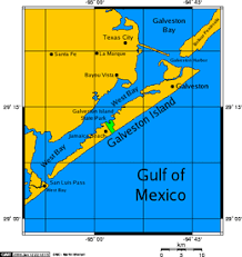 map of galveston galveston island