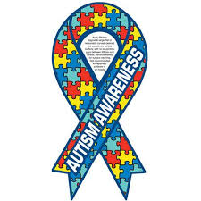 custom awareness ribbons promotional 030 thickness autism awareness ribbon magnets with