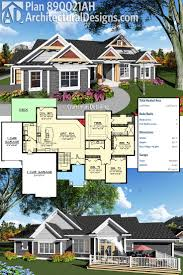 4 Bedroom Craftsman House Plans by Best 25 One Level Homes Ideas On Pinterest One Level House
