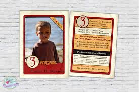 Personalized Birthday Invitation Cards Baseball Card Baseball Photo Invitation Birthday Invite Boy