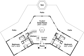 house plans with vaulted great room mediterranean style house plans plan 17 284