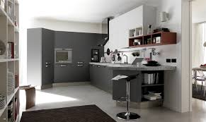 Grey And White Kitchen Rugs Open Modern Kitchen With Black White And Grey Furniture U2014 Smith
