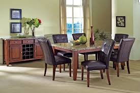Dining Room Table Sets Leather Chairs by Kitchen Marvelous Dining Room Tables Leather Dining Chairs Glass