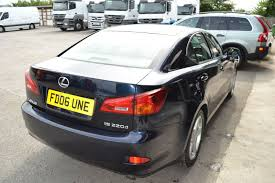 lexus is220d uk lexus is 220d 2 2td se full service history diesel hexon cars