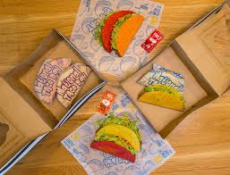 taco bell is celebrating national taco day with gift boxes of