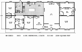 1999 fleetwood mobile home floor plan triple wide mobile home floor plans 1999 fleetwood mobile home floor