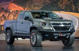 chevy concept truck chevy colorado in zr2 gear is ready to hit the rocky trails