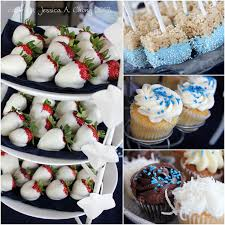 baby shower food ideas for boy strawberry cupcakes living room
