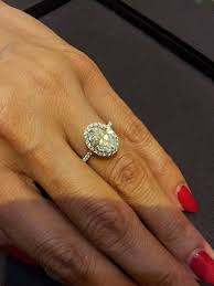 harry winston the one ring tried on my ideal hw ring fancy oval cut with halo setting and