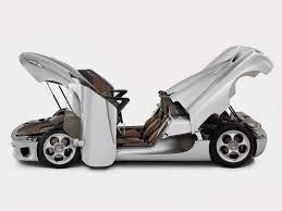 koenigsegg one 1 doors koenigsegg cc silver side doors trunk u0026 hood open 1280x960