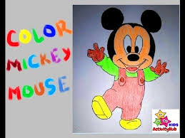 mickey mouse coloring pages kids mickey mouse coloring book