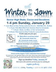 winter on the town organic youth