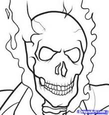 ghost rider coloring pages ghost rider coloring pages to print image mag