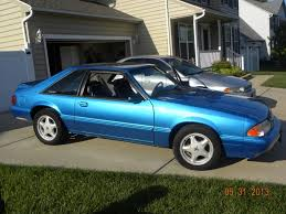 mustang 1991 for sale for sale 1991 mustang lx 5 0 5 speed bimini blue ford mustang