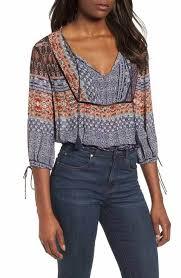 nordstrom blouses s lucky brand blouses tops tees nordstrom