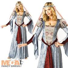 Maid Marian Halloween Costume Maid Marian Ladies Fancy Dress Fairytale Medieval Book Week