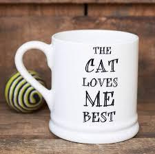 Best Mugs The Dog Or Cat Loves Me Best U0027 Mug By Sweet William Designs