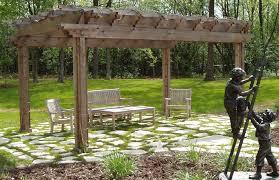 Pre Built Pergola by Western Red Cedar Pergolas Pergola Gallery A