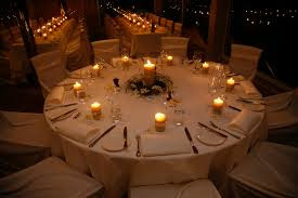 table decorations with candles and flowers wedding table centrepiece queenb blog